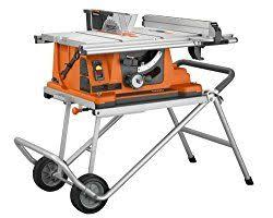 Ridgid R4510 Heavy Duty Portable Table Saw With Stand Review Electrosawhq Com Ridgid Table Saw Portable Table Saw Best Table Saw