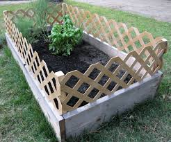 Raised Bed Garden Fencing Ideas 5 Top Inspirations