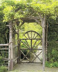 recycling ideas for the old garden gates