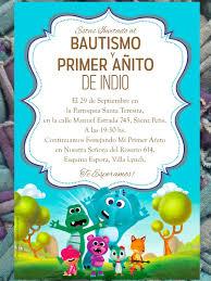 20 Invitacion Cancion Del Zoo Cumpleanos Bautismo 480 00 En