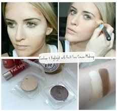 highlight with kett fi cream makeup