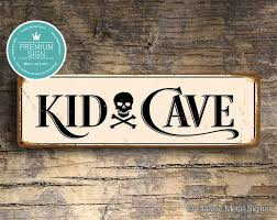 Kid Cave Sign Sign Kid Cave Signs Kids Room Sign Kid Cave Etsy