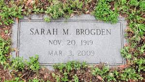 "Sarah ""Sally"" Mayo Brogden (1919-2009) - Find A Grave Memorial"