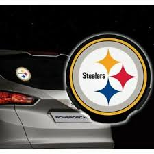 Pittsburgh Steelers Powerdecal Led Motion Sensing Auto Power Decal Car Accessory 94746527563 Ebay