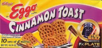 eggo cinnamon toast 10 sets of 4 pack