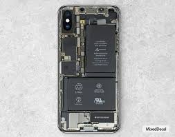 Iphone X Skin Iphone X Decal Phone Skin Tear Down Sticker Etsy