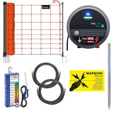 Goat Fence Electric Fence For Llamas And Alpacas With Mains Energiser
