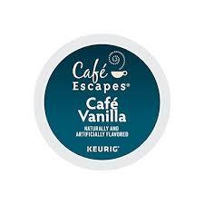 cafe vanilla coffee keurig k cups