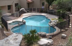 Challenging Pool Fence Safely Installed In Tucson Protect A Child Pool Fence Of Tucson