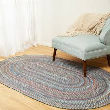 multi colored braided rug small 2x4 2 x