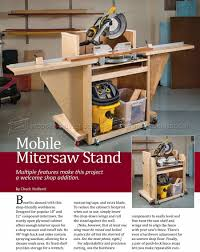 Found On Bing From Woodarchivist Com Miter Saw Stand Plans Mitre Saw Stand Miter Saw Table