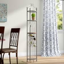 unzueta 8 bottle wall mounted wine rack