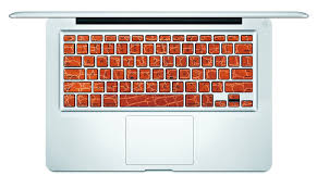 Leather Style Macbook Keyboard Decal Istickr Macbook Decal