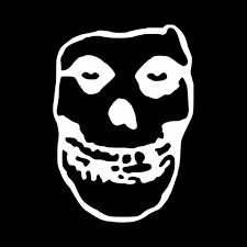 The Misfits Skull Logo Vinyl Decal Sticker