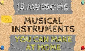 15 unique homemade al instruments