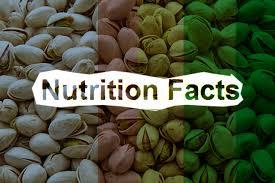 pistachios nutrition