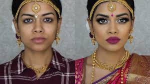 indian bridal makeup south indian