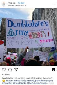 funny dumbledore army protest sign memes dumbledore quotes