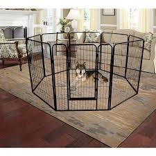 Shop Global Pronex Pet Playpen Portable 8 Panel Heavy Duty Metal Dog Exercise Fence Barrier Playpen Kennel Outdoor Indoor Overstock 31724820