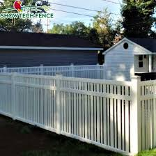 China Used Cheap White 6 H 8 W Privacy Vinyl Fence Panels China Pvc Privacy Fence Pvc Fence Factory