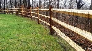 Heavy Duty Split Rail Post And Rail Northern White Cedar Wood Fence Home Estimate
