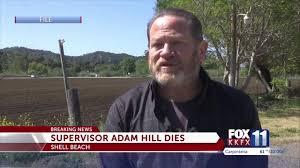 SLO County Supervisor Adam Hill dies - NewsChannel 3-12