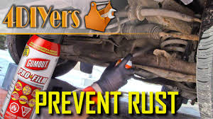diy how to oil spray a vehicle you