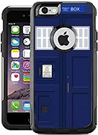 Amazon Com Teleskins Protective Designer Vinyl Skin Decals Stickers Compatible With Otterbox Commuter Iphone 6 Plus Iphone 6s Plus Case Uk Brtish English Police Telephone Box Pattern Only Skins And Not Case