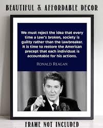 Ronald Reagan Quotes Wall Art- 8 x 10 ...