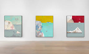 """Lacey West on Twitter: """"If you liked yesterday's dreamy arctic seascapes,  make sure you check out #Freeze by Harold Ancart @davidzwirner London this  week… https://t.co/kbzDYWZ19M"""""""