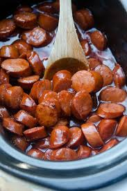 crock pot bbq tail sausage