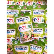 Muối giảm mặn 50% YASASHIO ajinomoto cho bé ăn dặm
