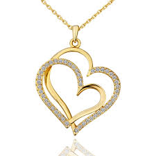 heart pendant necklace charm jewelry