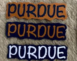 Purdue Decal Etsy