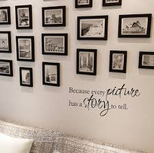 Every Picture Has A Story To Tell Quote Wall Sticker Quotes Wall Decal Family Photo Wall Quotes Diy Easy Wall Art Cut Vinyl Q128 Quote Wall Decal Wall Quoteswall Sticker Quotes Aliexpress