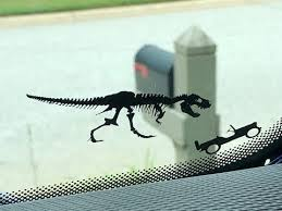 Jeep Wrangler Jk Jl T Rex Windshield Decal Youtube
