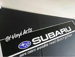 Subaru Windshield Banner Vinyl Decal Visor Sunstrip Sti Wrx Impreza Brz