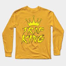 trap kingz rap long sleeve t shirt
