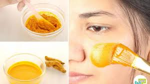 diy turmeric masks for acne and pimples