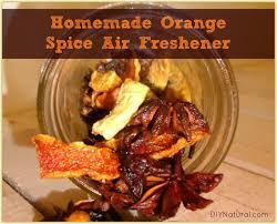orange air freshener a natural diy