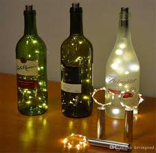 led wine bottle lights wine bottle for