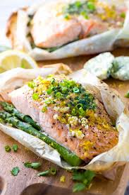 Salmon En Papillote with Vegetables ...