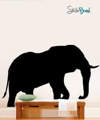 Vinyl Wall Decal Sticker Safari Elephant 289 Stickerbrand