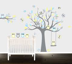 Owl Wall Decals In Decors