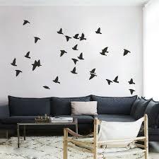 Flock Of Birds Wall Sticker Motivation Vinyl Room Art Removable Home Decor Large For Sale Online