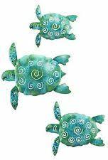 sea turtle beach ocean summer metal