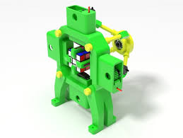 fully 3d printed rubik s cube solving