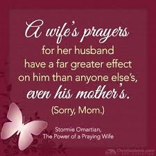 quotes about praying wife quotes