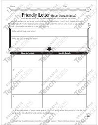 friendly and business letters graphic