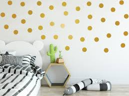 Polka Dots Stars Wall Art Stickers Decals Knitted Hats By Ramutes Artfire Com
